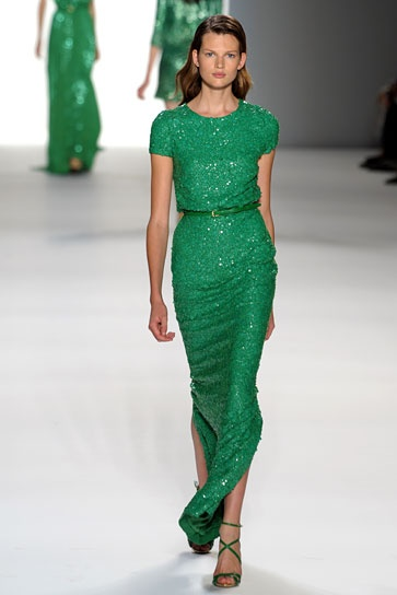 Prom inspiration: Elie Saab: Emeralds Cities, Emeralds Green, Bridesmaid Dresses, Ellie Will Be, Elie Saab Spring, Kelly Green, The Dresses, Green Wedding, Green Dresses