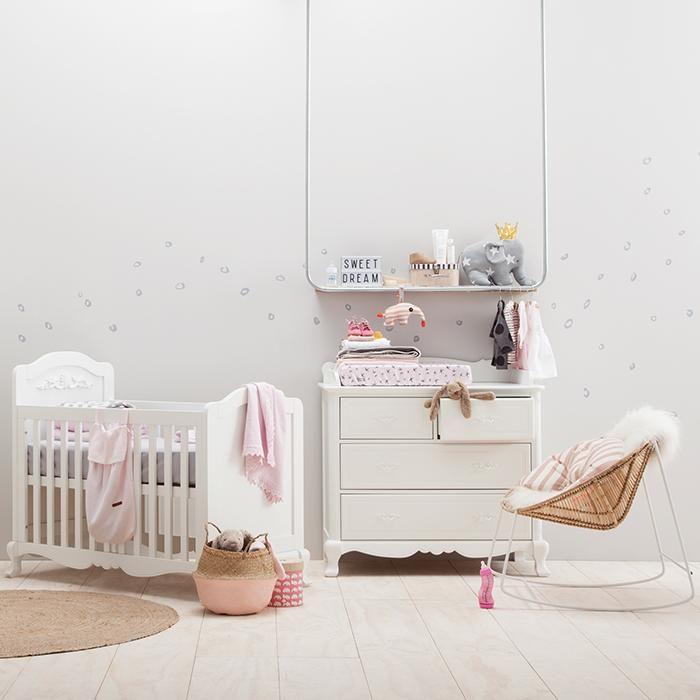 Zachte en romantisch: slapen in stijl #baby #Kidsmill #romantisch #prinses