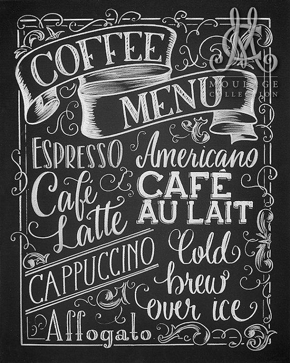 The 25+ best Coffee chalkboard ideas on Pinterest | Cafe ...