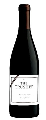 The Crusher Wilson Vineyard Pinot Noir $12.34 -  It's an elegant Pinot with silky texture and crisp acidity typical of grapes grown in cool-climate regions. *Please note: Prices may be not be guaranteed. Please check our website, www.TheWineGuyLi.com for today's price. We promote specials with our SuperSaver card periodically. Subject to Inventory Depletion.*