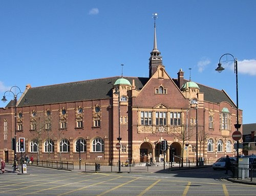 Wolverhampton Central Library, Wolverhampton, England. Worked here as a Saturday girl 1985-7