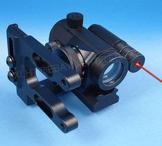 Archery RED DOT BOW SIGHT with Integrated LASER for Mathews, Bowtech, PSE