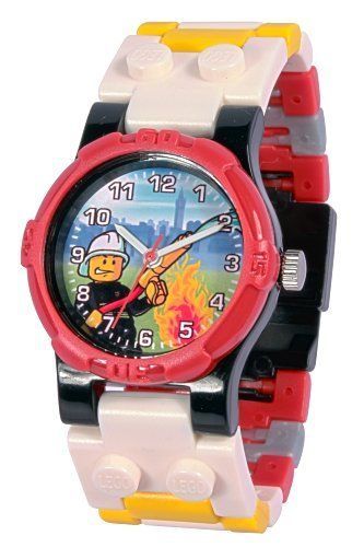 "Lego 9003448 ""Pompiere"" – Orologio da bambino/ragazzo 