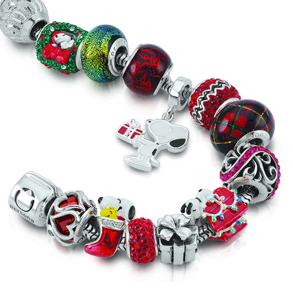 Bead Joyful this holiday season with silver beads and charms from Persona's Peanuts by Persona holiday collection.  Now available at www.personaworld.com