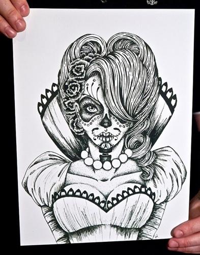 Vicky Fine Art Print by Johanna