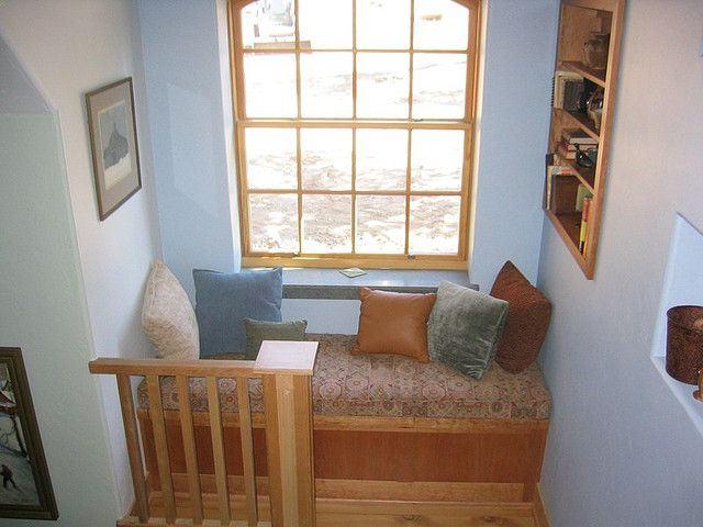 Daybed Windowseat Stairwell Daybed Window And Nook