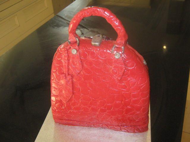 my own LV cake handbag