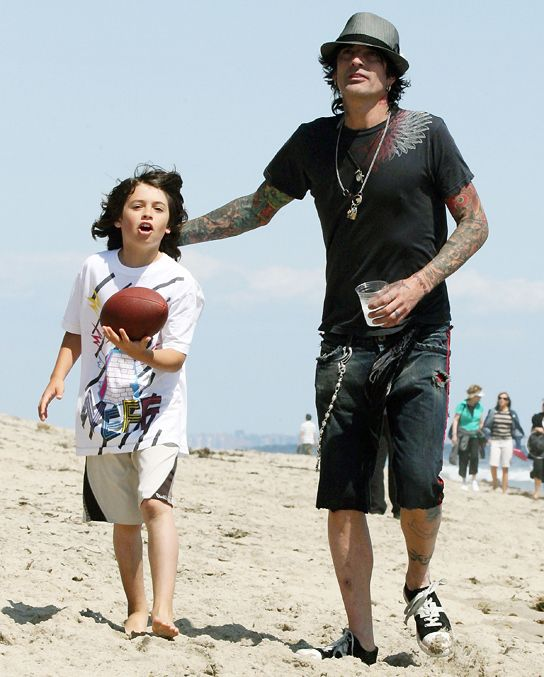 Tommy Lee Worries That His Son With Pam Anderson Is a Little Womanizer ...