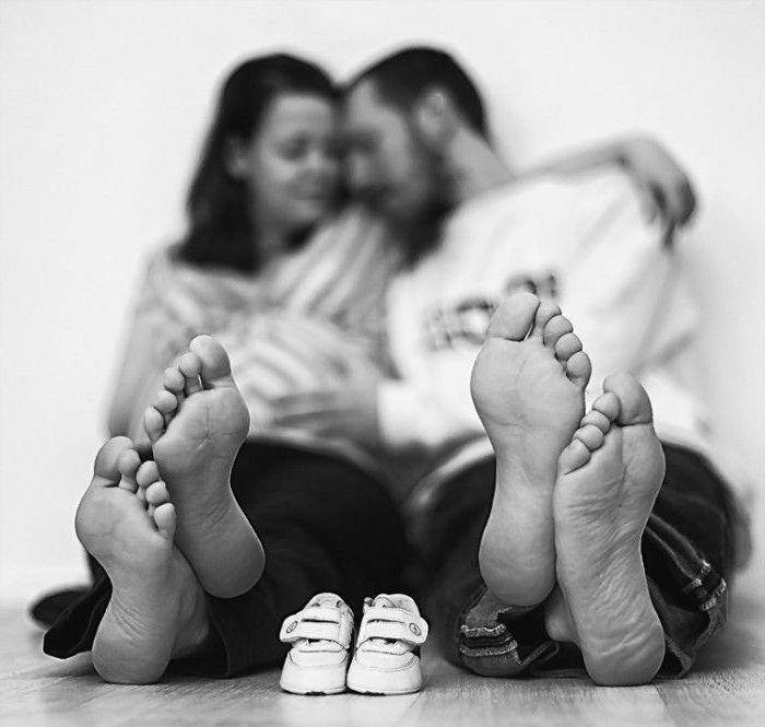 Die liebevollen Babybauchfotos, die Sie sich unbedingt machen sollen