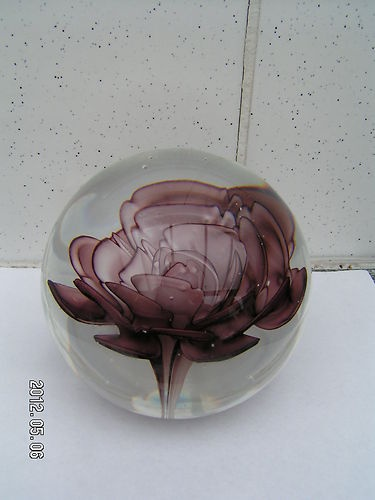 44 best presse papier images on pinterest glass marbles - Presse papier en verre decoration ...