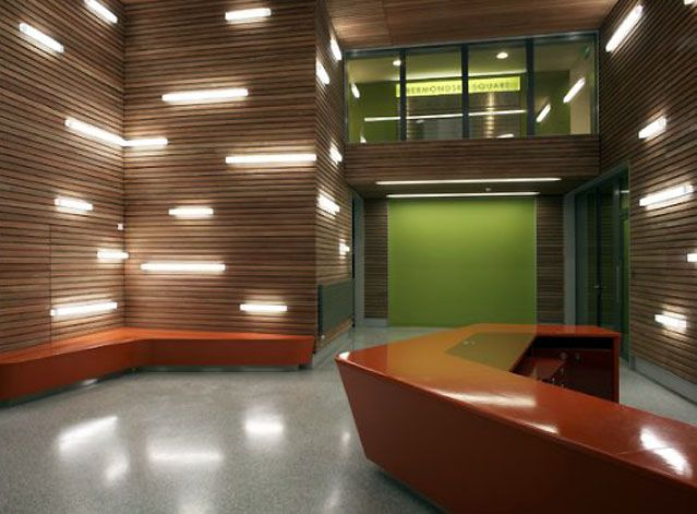 51 best main hospital lobby ideas images on pinterest entrees lobbies and corporate interiors for Lighting architectural interiors