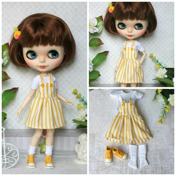 Jumper skirt top socks and shoes  for Blythe Azone pure
