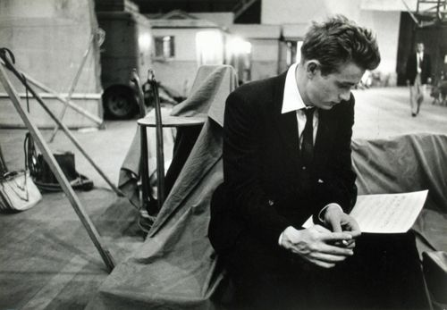 James Dean learning his lines: James Of Arci, Warner Brother, Bobs Willoughby, Dean O'Gorman, James D'Arcy, James Dean, Rebel, Photo, Jamesdean