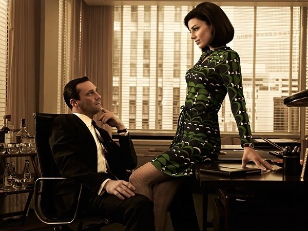 Mad Men Vintage Drinks Cart - see more Mad Men style here.....