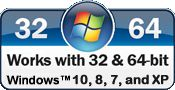 Our free office software is absolutely and completely compatible with 32 bit and 64 bit Windows. For Windows NT, XP, Vista , 7 , 8, 8.1, and Windows 9.
