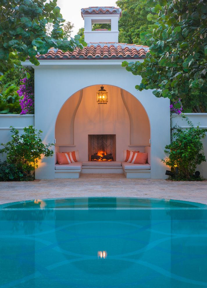 if you have the luxury to have a pool cabana you will want to make sure you get everything you can do around it