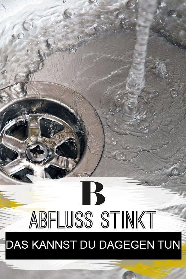 Abfluss stinkt – das kannst du dagegen tun | Haushalt | Abfluss ...