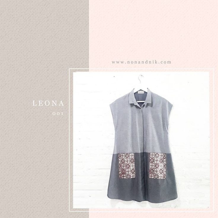 Yes it's here. Leona 001 Comfy Loose Collared Shirt Dress with Batik Pocket Modern & Casual Look Material Used : Light Jeans Fabric / Hand-Stamped Batik, Cotton www.nonandnik.com #batik #batikindonesia #fashionindonesia #batikdress #batikblouse #kainbatik #batikmodern #batikcap #modernbatik #batikshop #fashionbatik #batikfashion #ootdbatik #onlineshop #localbrand #localbrandindonesia #readytowear #batiknonik #nonandnik
