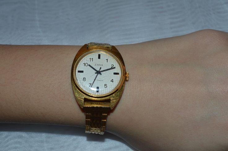 Zaria Vintage Women's watch, ladies watch, Soviet, USSR by KrisztinaVintage on Etsy