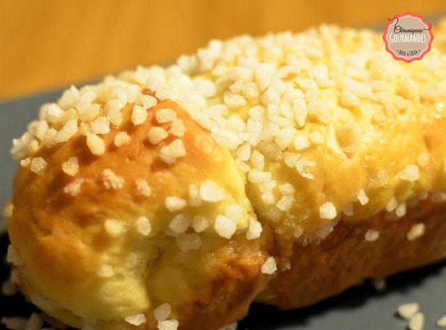 Brioche au sucre au mascarpone Texture vraiment souple, légère, moelleuse...  #recette #brioche #mascarone
