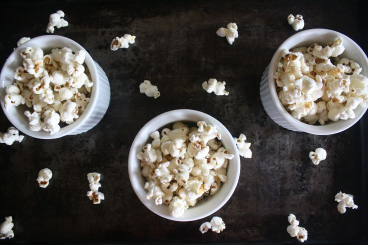 Perfect Stovetop Popcorn + 2 Easy Topping Combo's