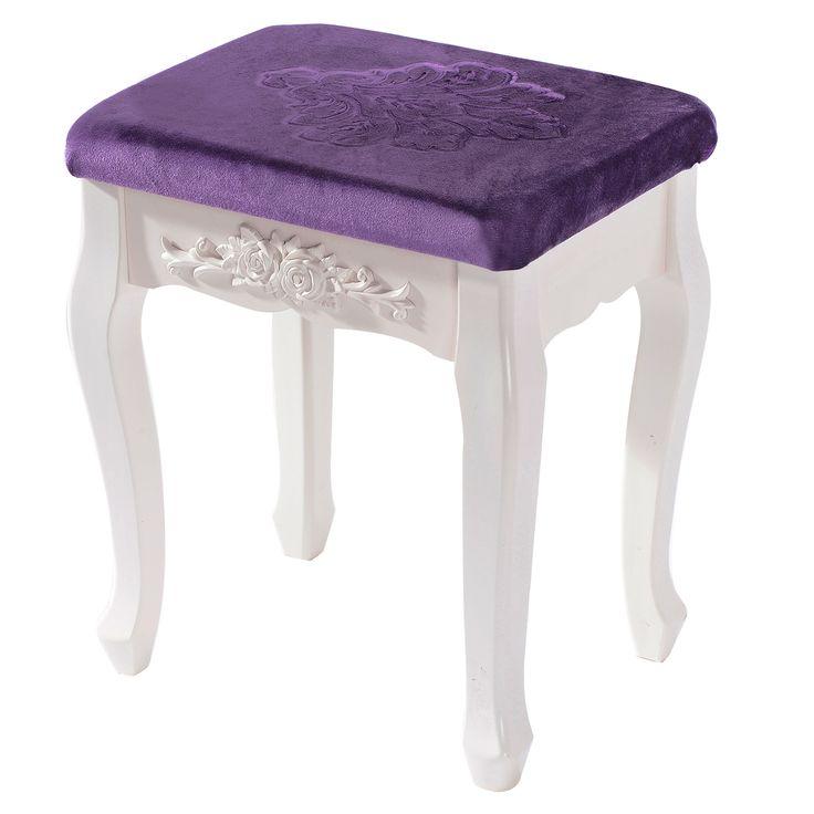 die besten 25 hocker f r schminktisch ideen auf pinterest schminktisch mit hocker. Black Bedroom Furniture Sets. Home Design Ideas