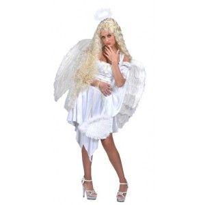 Déguisement ange femme grande taille, Déguisement ange blanc chic femme, noël, fêtes, carnaval