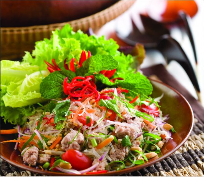 Thai Glass Noodle Salad - Yum Woon Sen Recipe
