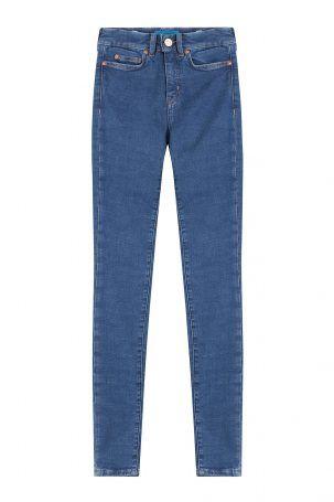 MiH Jeans MiH Jeans Skinny Jeans aus Baumwoll-Stretch – Blau