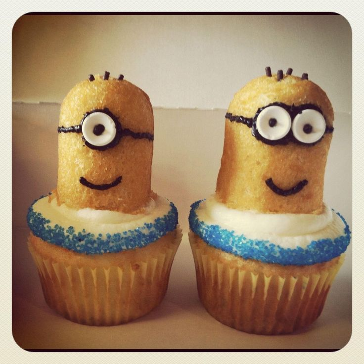 twinkie minions ! Despicable Me.