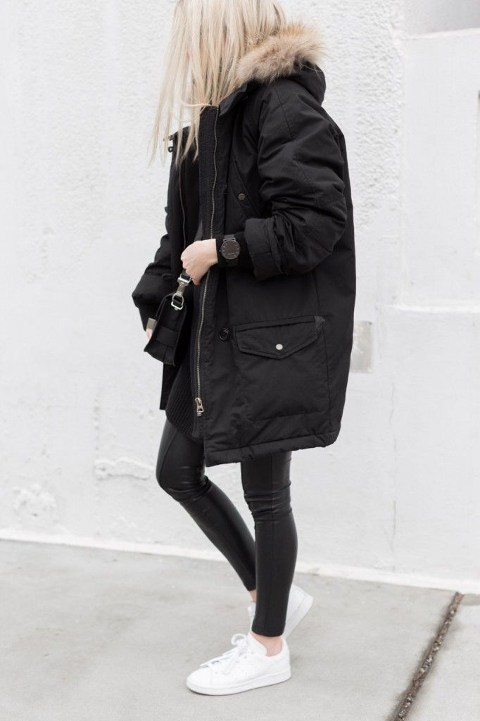 Best 25  Black parka coat ideas on Pinterest | Black parka ...