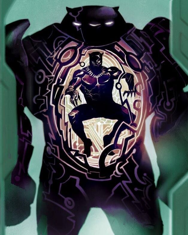 Black Panther by Mike Del Mundo