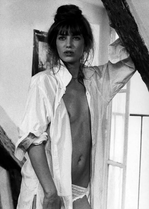 """My mother was right: When you've got nothing left, all you can do is get into silk underwear and start reading Proust."" - Jane Birkin @halloffurs #HallLoves"