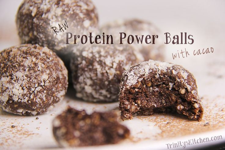 Raw Power Protein Balls with cacao, hemp, chia and flax seeds – Trinity's Conscious Kitchen