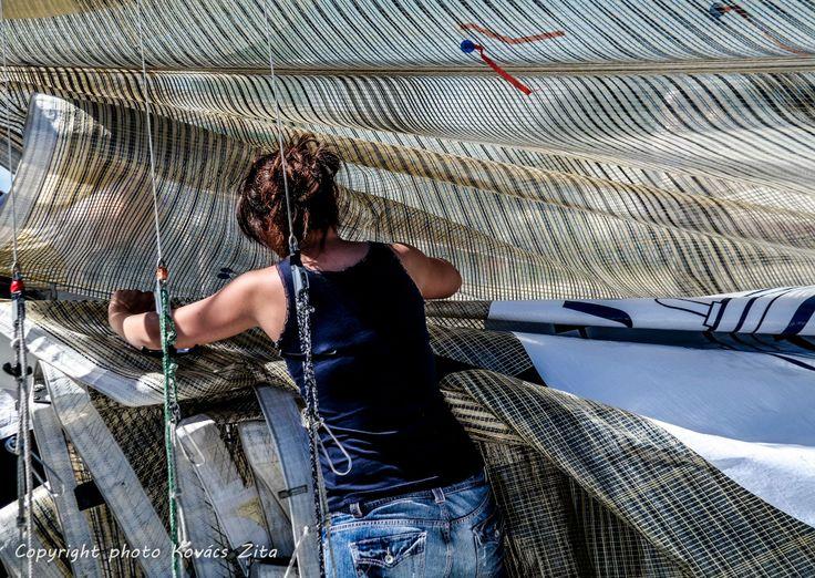 Kriszti vitorlát rendez http://vitorlastabor.eu