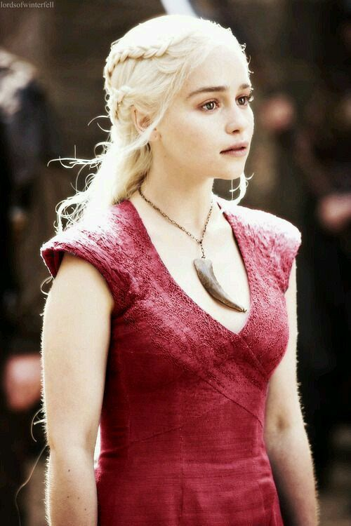 Ready To Ship Size SMALL Khaleesi Red game of thrones by chaasBaby