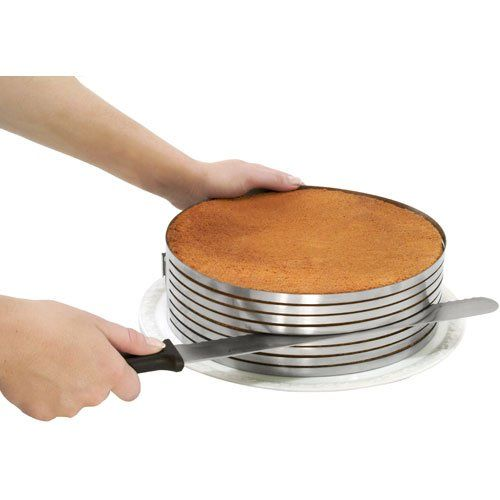 Amazon.com: Piece of Cake Layer Slicing Kit: Home & KitchenKitchens, Cake Slicer, Cake Slices, Layered Slices, Food, Layer Cakes, Layered Cake, Slices Kits, Cake Layered