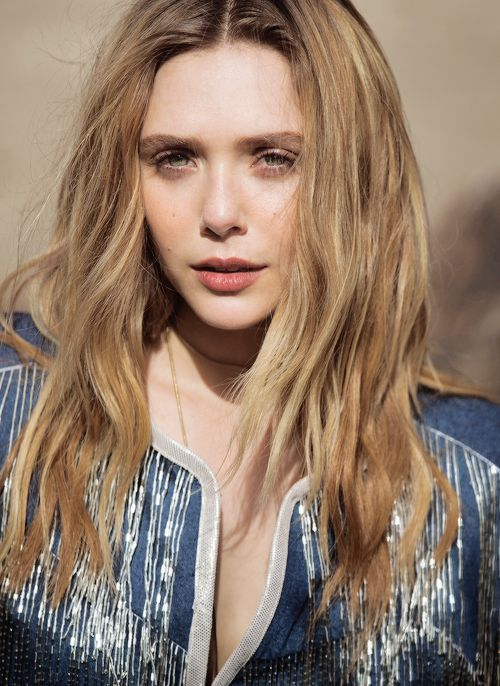 Elizabeth Olsen, photographed by David Bellemere for The Edit, April 23, 2015.