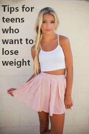 how to lose weight easy for teenager