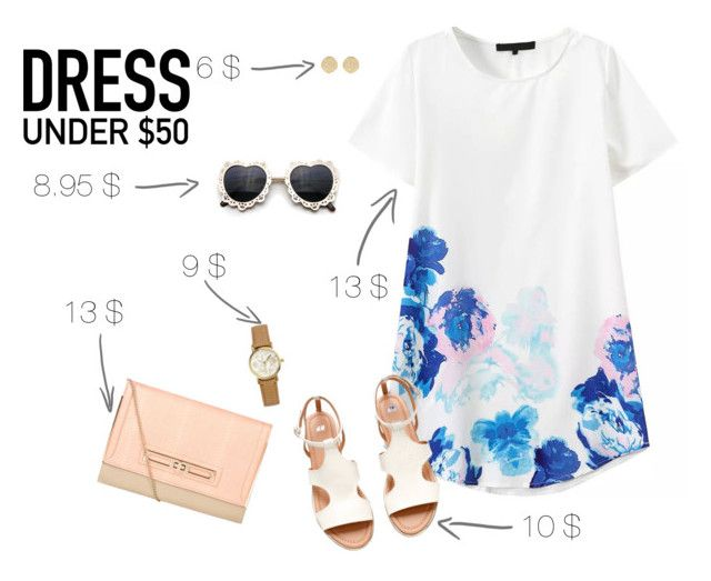 """""""Dress under $50"""" by blondeshoopaholic on Polyvore"""