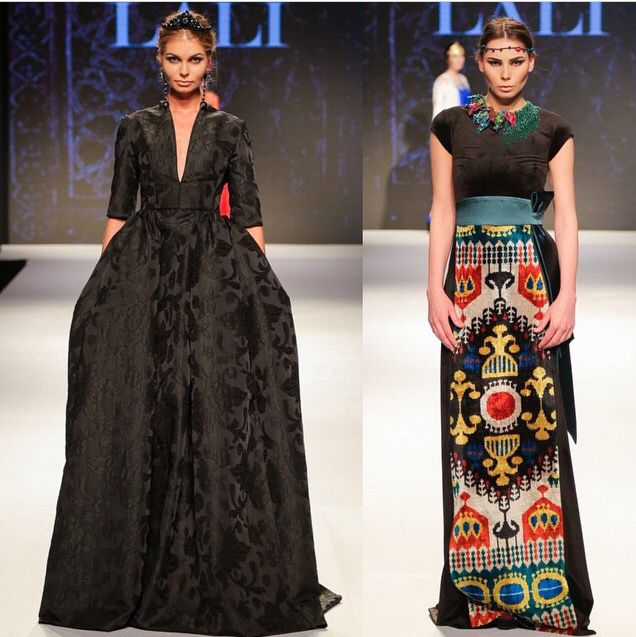 Black dress is so gorgeous!!! Lali Couture. Uzbek Fashion House