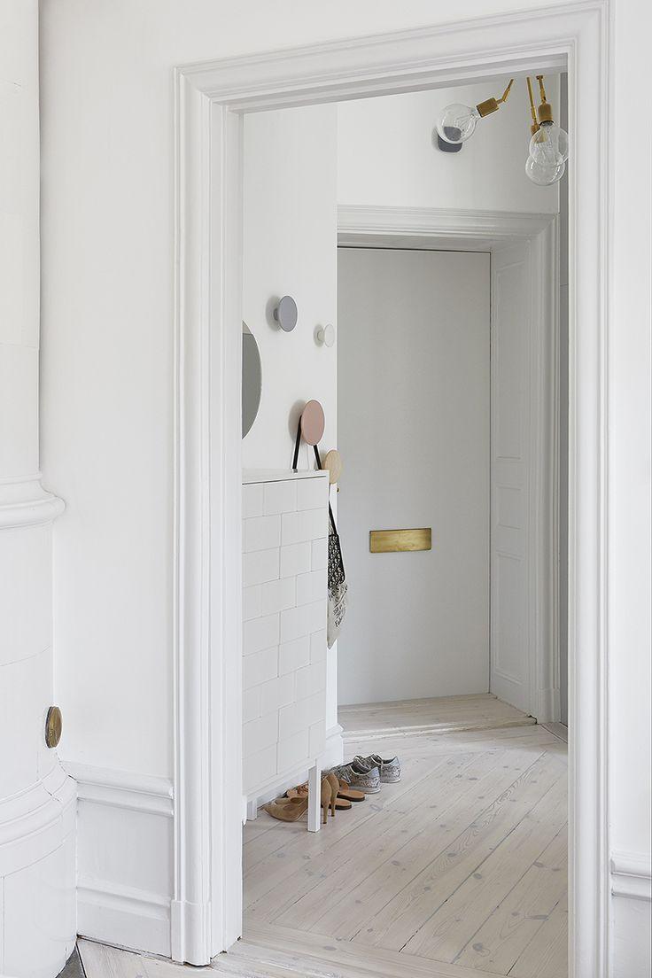 613 best Hallway images on Pinterest | Stairs, Coat storage and Door ...
