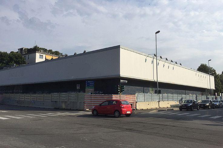 Recinzione da cantiere in ferro, Monza