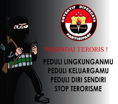 Waspada terhadap Teroris