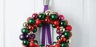How to Make an Ornament Wreath & Hanger | eHow.com