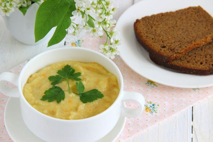 Karfiolová polievka pre dojčatá