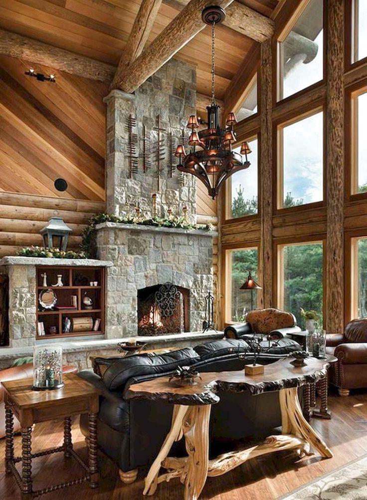 56 Favourite Log Cabin Homes Modern Design Ideas #LogCabinHomes #LogCabinIdeas #LogCabinDesign