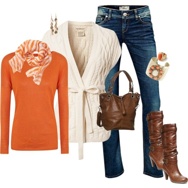 Fall/Orange on polyvore