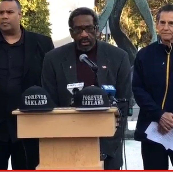 Alameda County Supervisor Nate Miley Joins Oakland Raiders Fans In NFL Lawsuit #Oakland See Zennie62 On YouTubw