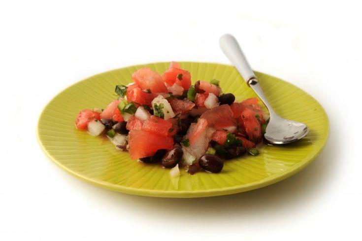 Walla Walla-Watermelon Salsa